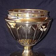 """SOLD A Very Stylish """"CHALICE LIKE"""" Art Nouveau Brass Jardiniere"""