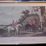"""FOX HUNTING Print """"Returning From The Hunt"""""""
