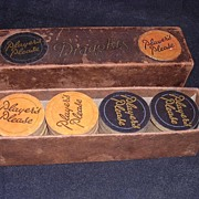 Eatly 1900's Set Of PLAYERS Cigarettes Advertising DRAUGHTS