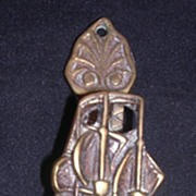 Small Brass Door Knocker Of The 'MAYFLOWER' Circa 1910