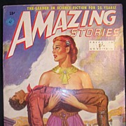 SCI-FI Magazine - Amazing Stories - Vol. 17 1951