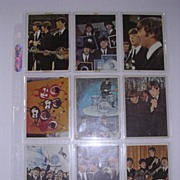 SOLD 1960's Original BEATLES Trading Cards