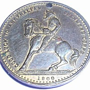 RARE BOER War Australian Commemorative Medallion 1900