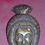 Elizabeth The First Brass Door Knocker
