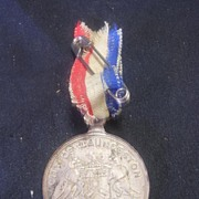 1937 Coronation George V1 Commemorative Medallion -  Launceston, Tasmania