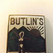 BUTLINS Pwllheli 1947 Bikini Beauty Camp Badge