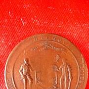 Govan 1911 Coronation Medallion King George & Queen Mary