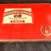 SOLD OGDEN'S Guinea Gold Cork Cigarettes Tin