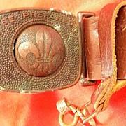 BOY SCOUT Belt New Zealand