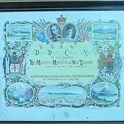 1901 Duke & Duchess of Cornwall Invitation
