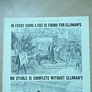 Elliman's Embrocation Full Page From The London Illustated News 1892