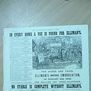 ELLIMAN'S Embrocation Full Page from The Illustrated London News 1892