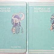 Peoples of All Nations - Hammerton - in 2 Vol's Circa 1930