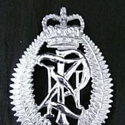 Vintage New Zealand Police Hat Badge