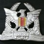 Vietnam War - VNAF - South Vietnam - Air Force -Cap Badge