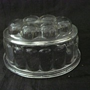 A Small Glass Jelly Mold