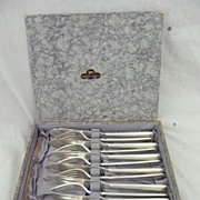 Walker & Hall Silver Plated Fish Set