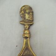 Old 'MAORI CHIEF'  Souvenir Brass Bottle Opener