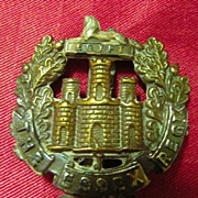 WW1 British Army Badge - The Essex Regiment