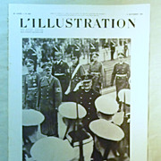 SALE ORIGINAL Feature Page  on Hitler From L ' Illustration French Magazine September 1938