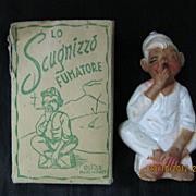 SCUGNIZZO Fumatore - Smoking Street Urchin - ITALY Circa 1940