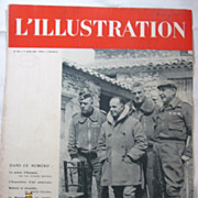 "ORIGINAL FRONT COVER ""Spanish Civil War""   From L ' Illustration French Magazine Jun"
