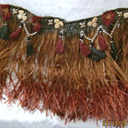 Rare Original 1940's Hawaiian Hula Skirt
