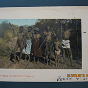 "Australian Aboriginals ""Group of West Australian Natives"""