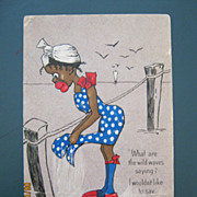 Black Americana - The Bathing Girl