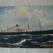 S.S. Cretic  White Star Line, 'Celebrated Liners' Series
