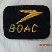 BOAC Cloth Badge