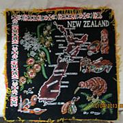 Retro New Zealand Tourism Cushion Cover  - Circa 1970's