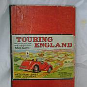 Touring England MAP Game -Circa 1950