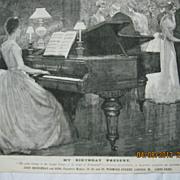 My Birthday Present - Illustrated London News 1883