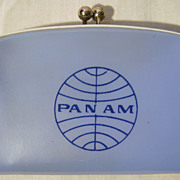 PAN AM Airlines Child's Souvenir Purse - Circa 1970's