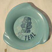 TEAL Airlines Souvenir Ashtray - Circa 1960