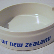 Air New Zealand Promotional Ashtray Circa -  1970