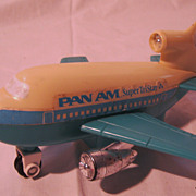 PAN AM Advertising Promotional 'Super Tri Star' Toy Plane