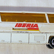 Iberia Airlines Promotional Toy Bus