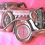 Tulip Brand Duesenberg SJ 1934 Model thermometer
