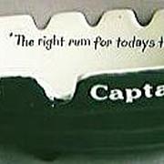 "SOLD Captain Morgan ""Boat"" Ashtray"