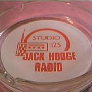 Jack Hodge Radio Advertising Ashtray