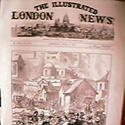 Illustrated London News Front Page July 8th 1876