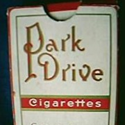 Park Drive Cigarettes Playing Cards Advertising Pack