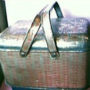 Union Leader  Tobacco Lunch Pail