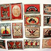 1930's Match Box Labels
