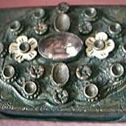 Vintage Ornate Match Box Holder Circa Early 1900's