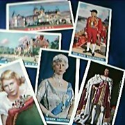 Cigarette Card Set  Coronation of Their Majesties