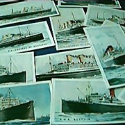 Cigarette Cards Merchant Ships Of The World 1925