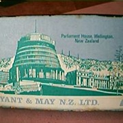 Parliament House New Zealand Large Match Box